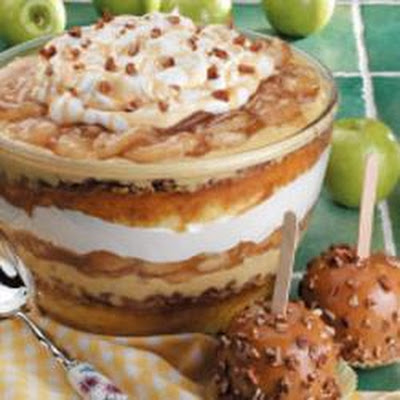 Colossal Caramel Apple Trifle