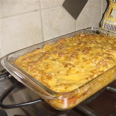 Cheesy Macaroni Bake