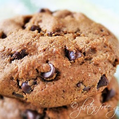 Chocolate Chip Espresso Cookies- Vegan & Gluten-Free