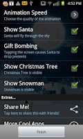 Screenshot of Christmas Eve Live Wallpaper