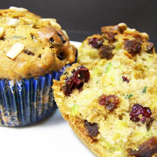 Fruit and Nut Zucchini Muffins