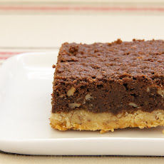 Pecan Shortbread Brownies