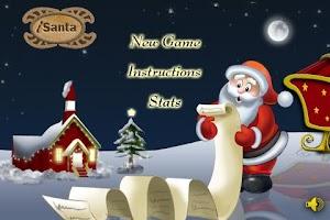 Screenshot of iSanta 2011