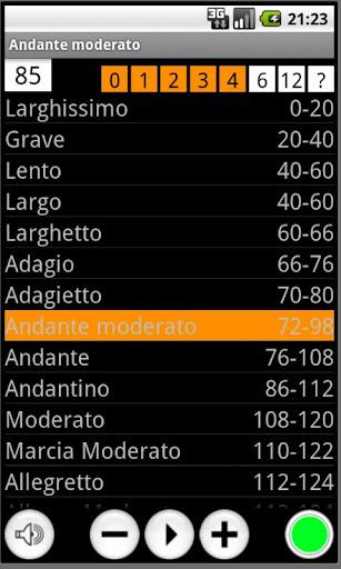 Orange Metronome 2