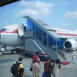 GIA Boarding time by Aditya Kristianto - Transportation Airplanes (  )