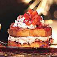 Grilled Strawberry Cheesecake Towers