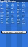 Screenshot of Word Run Pro