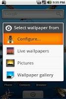 Screenshot of Live Wallpaper Creepy Crawlies