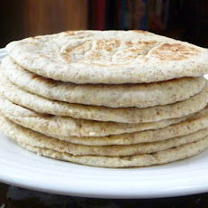 Sesame and Flax Flatbreads