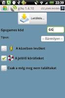 Screenshot of g:hu a GC/GG segédeszköz