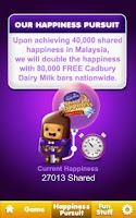 Screenshot of Cadbury Happier Mission