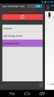 Screenshot of Reminders