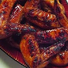 Garlic-Teriyaki Chicken Wings