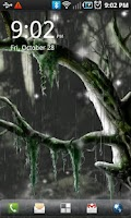 Screenshot of Biomechanical Bog Wallpaper