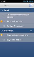 Screenshot of Daily Planner (Schedule task)
