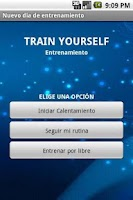 Screenshot of Train Yourself