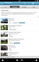 Screenshot of Colorado Guide by Triposo