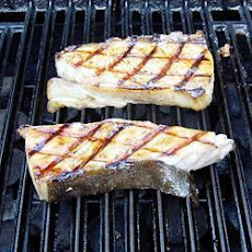 BBQ Halibut Steaks
