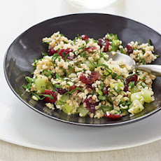 Bulgur with Dried Cranberries