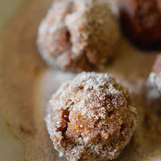 Cinnamon Sugar Fried Doughnut