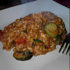 Fresh Tomato and Courgette Risotto