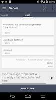 Screenshot of Plumble - Mumble VOIP