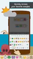 Screenshot of ai.type Free Emoji Keyboard