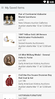 Screenshot of Live Auctions
