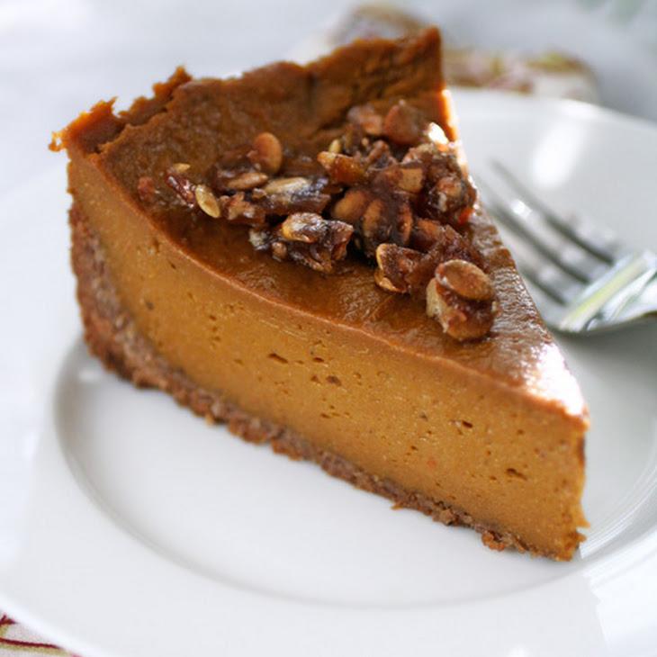 free pumpkin pie with praline and coconut pecan crust from gluten free ...