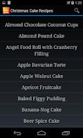 Screenshot of Cake Recipes