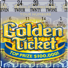 Gold Ticket Lotto Scratch Off