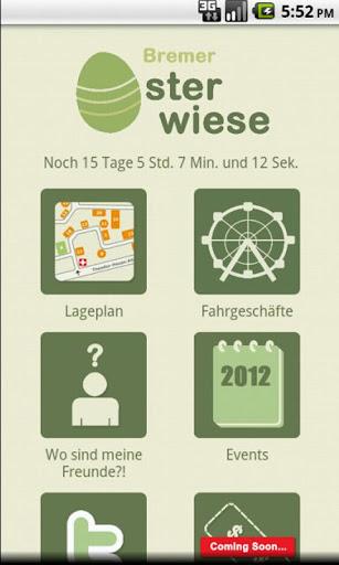Osterwiese App 2012 Bremen