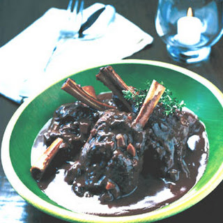 Greek-Style Braised Lamb Shanks
