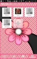 Screenshot of GO CONTACTS - PeachPlaidFlower