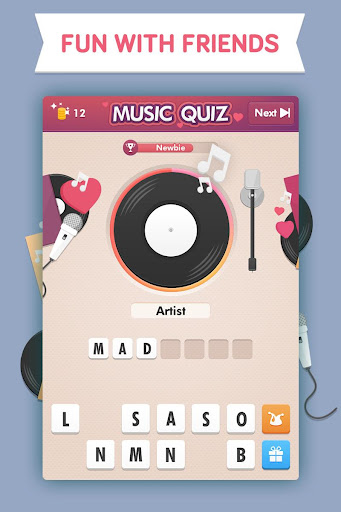 Music Quiz - Love Edition - screenshot