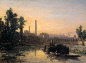 RIJKS: Johan Barthold Jongkind: painting 1855