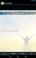 Screenshot of Law of Attraction - How to Use