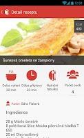 Screenshot of Miluji Vaření - recepty