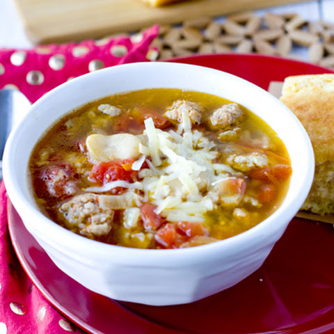 Sausage & Butter Bean Soup