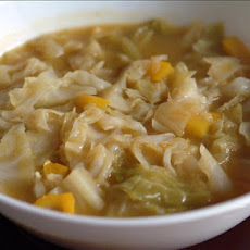 Sweet and Tangy Cabbage Soup