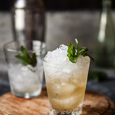 Pineapple And Ginger Mint Julip