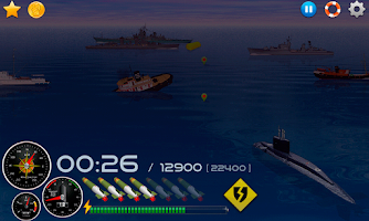 Screenshot of Silent Submarine - Naval war!