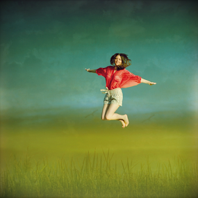 jump by Iva Petrović - Digital Art People ( ivana )