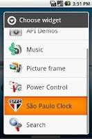 Screenshot of Relógio do São Paulo