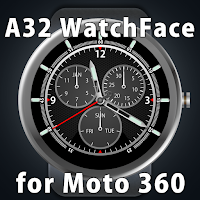 Screenshot of A32 WatchFace for Moto 360