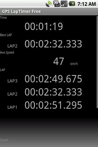 GPS LapTimer Lite