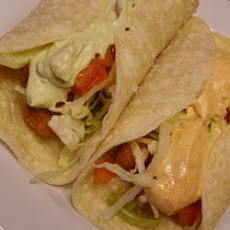 Easiest Fish Finger Tacos