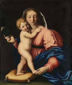 RIJKS: workshop of Giovanni Battista Salvi: painting 1699