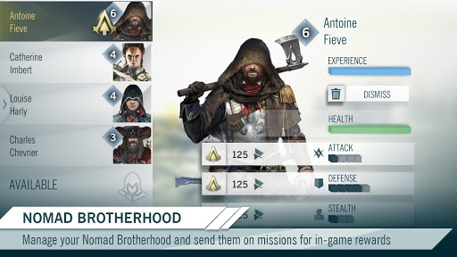 Assassin's Creed Unity App - screenshot