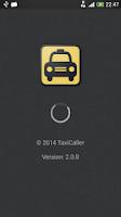Screenshot of Taxi Caller